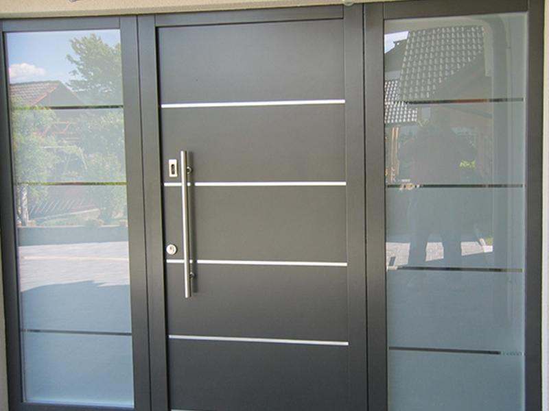 ... Harmonische Formen   Hohe Wärmedämmung   Optimale Schalldämmung   Beste  Sicherheit.... Das Bieten Haustüren Vom Fensterzentrum Martin Preis.